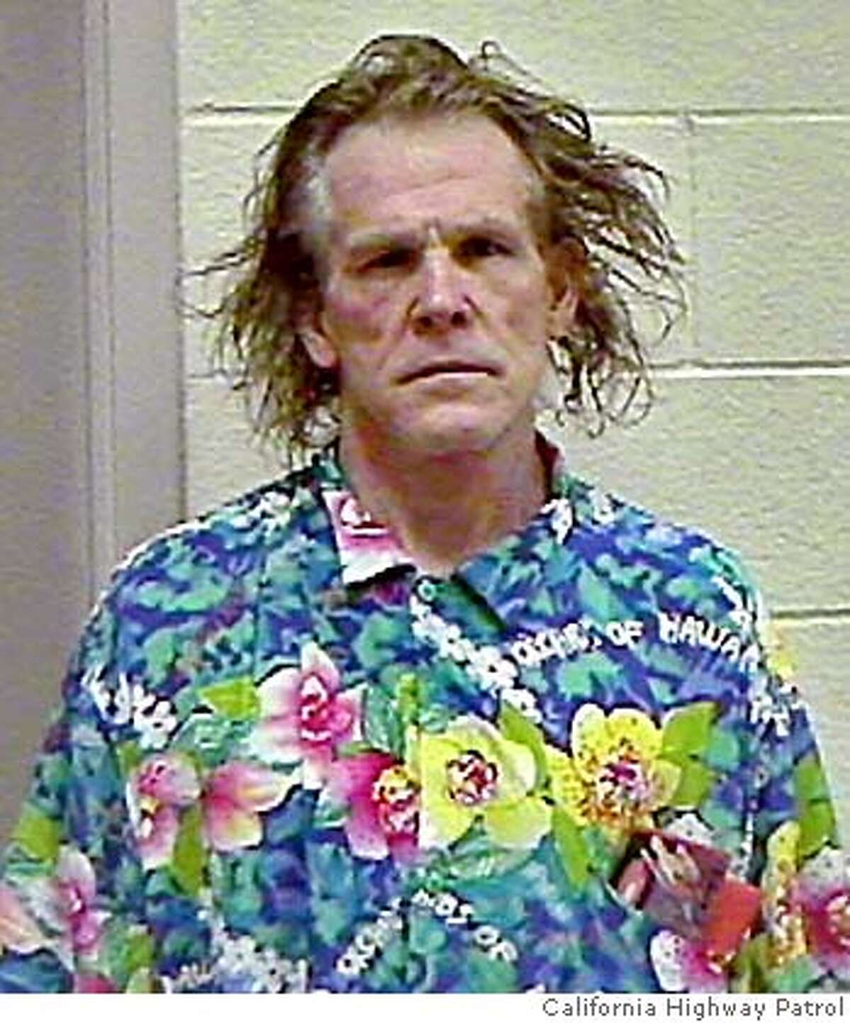 Actor Nick Nolte is shown in a booking photo released Thursday, Sept. 12, 2002, by the California Highway Patrol, taken after his arrest on suspicion of driving under the influence in Malibu, Calif. Nolte was arrested Wednesday, after a CHP officer saw his Mercedes-Benz swerving on a highway near his home. He was handcuffed and taken to a Los Angeles County sheriff's station for booking. Nolte was cited and released on a misdemeanor charge of driving under the influence of alcohol or drugs, police said. (AP Photo/California Highway Patrol) RETRANSMISSION FOR IMPROVED QUALITY; HANDOUT CALIFORNIA HIGHWAY PATROL