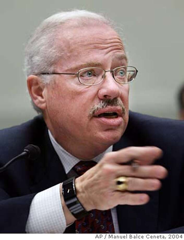 """Former Rep. Bob Barr, R-Ga, testifies before the House Judiciary Committee regarding the proposed Federal Marriage Amendment that would define """"marriage"""" as only the lawful union between a man and a woman on Capitol Hill, March 30, 2004 in Washington. Barr, who is not a supporter of the same-sex marriage and opposes a constitutional amendment, is the author of the """"Defense of Marriage Act"""" commonly known as DOMA, which was signed into law by President Clinton in the fall of 1996. (AP Photo/Manuel Balce Ceneta) Former Rep. Bob Barr, R-Ga., says marriage laws are a state prerogative. ProductNameChronicle ProductNameChronicle  Ran on: 02-12-2006  Bob Barr, a former Republican representative from Georgia, warns his fellow conservatives that it's wrong to defend President Bush's ability to spy on Americans. Photo: MANUEL BALCE CENETA"""