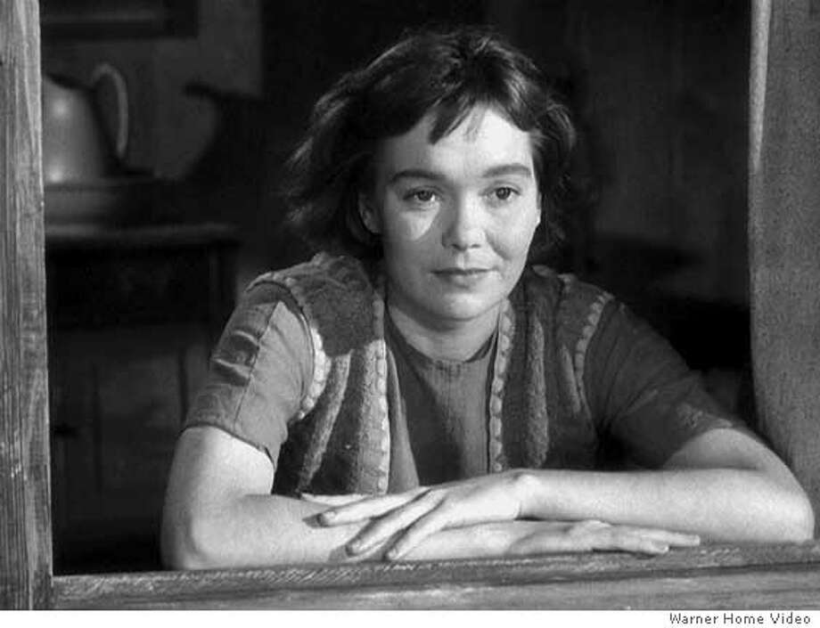 "FILE -- (NYT57) UNDATED -- Sept. 10, 2007 -- OBIT-WYMAN-1 -- Jane Wyman, an Academy Award winner for her performance as the deaf rape victim in ""Johnny Belinda,"" star of the long-running TV series ''Falcon Crest'' and Ronald Reagan's first wife, died Monday, Sept. 10, 2007. Wyman in the 1948 film ""Johnnie Belinda."" (Warner Home Video/The New York Times) - NO SALES - EDITORIAL USE ONLY - Ran on: 09-11-2007  Jane Wyman won an Academy Award for her role as a deaf rape victim in &quo;Johnny Belinda&quo; and was nominated three other times.  Ran on: 09-11-2007  Jane Wyman won an Academy Award for her role as a deaf rape victim in &quo;Johnny Belinda&quo; and was nominated three other times. Photo: WARNER HOME VIDEO"