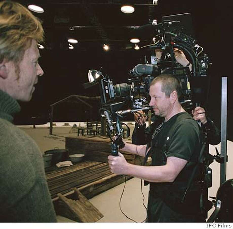 Director, Lars Von Trier on the set of MANDERLAY. An IFC Films release. Photo: Ho