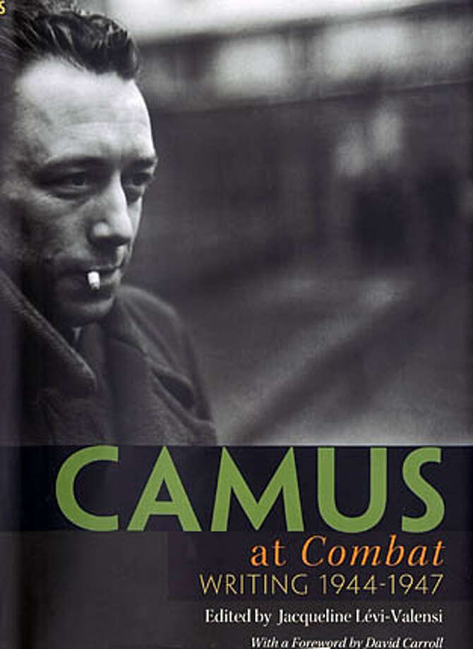 "Cover of ""Camus at Combat: Writing 1944-1947"" Photo: No Byline"
