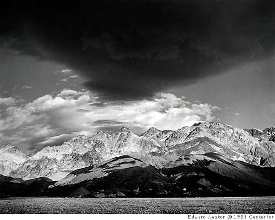"Edward Weston's ""Clouds, Death Valley,"" 1939 EW_81251043, 1/25/06, 11:55 AM, 8C, 3936x4626 (300 957), 75%, preservation s, 1/80 s, R96.0, G83.6, B95.8 Photo: Edward Weston � 1981 Center For"
