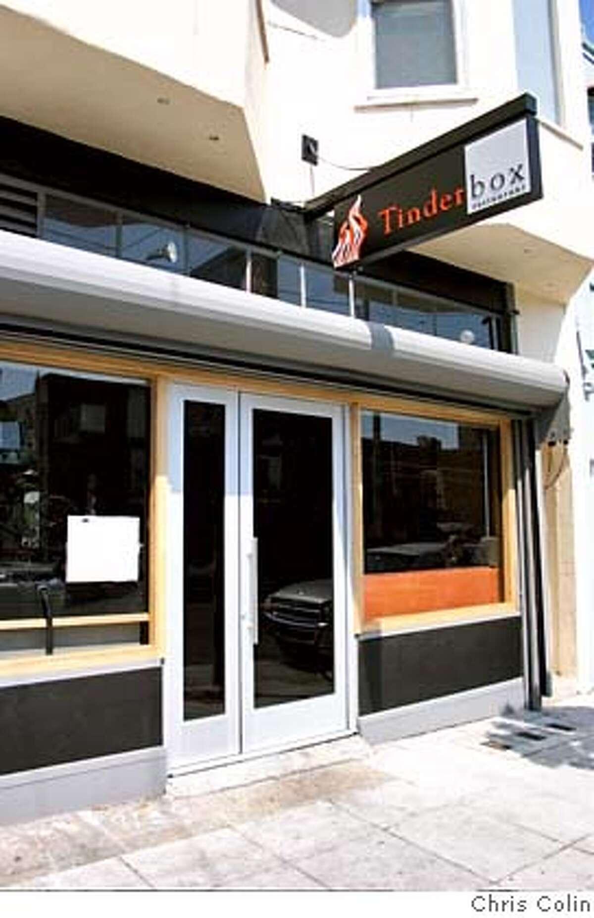Tinderbox restaurant, 803 Cortland Avenue, San Francisco.