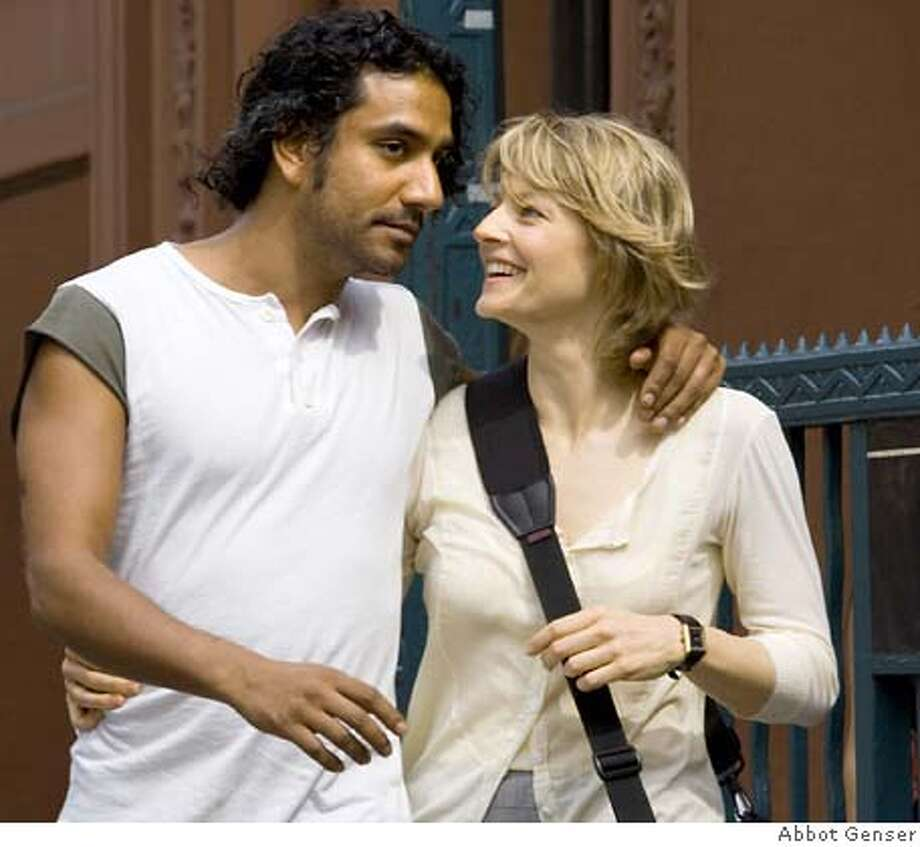 Couple David Kirmani (Naveen Andrews) and Erica Bain (Jodie Foster) in happier times, before a violent encounter that changes their lives in Neil Jordan's psychological thriller The Brave One, opening Friday. PHOTOGRAPHS TO BE USED SOLELY FOR ADVERTISING, PROMOTION, PUBLICITY OR REVIEWS OF THIS SPECIFIC MOTION PICTURE AND TO REMAIN THE PROPERTY OF THE STUDIO. NOT FOR SALE OR REDISTRIBUTION. Photo: Abbot Genser