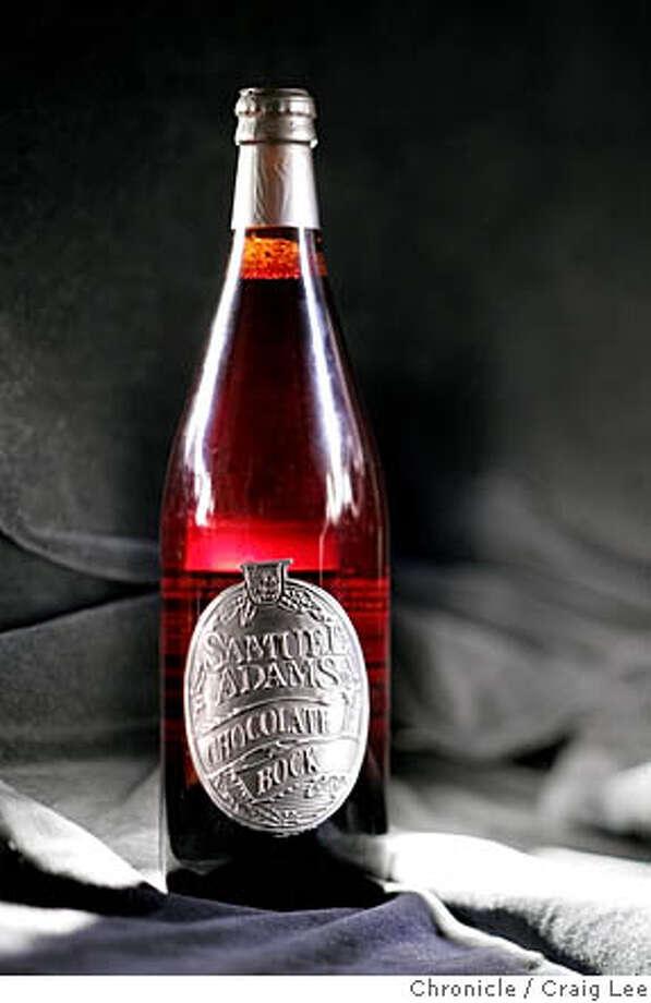 BEER_012_cl.JPG  Samuel Adams Chocolate Bock beer.  Craig Lee / The Chronicle Photo: Craig Lee