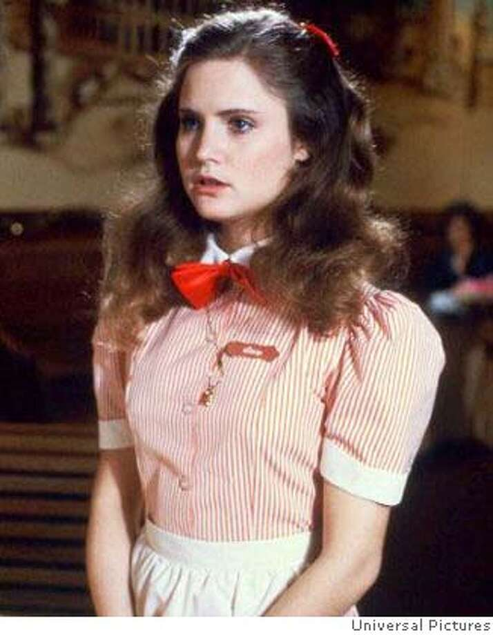 "Jennifer Jason Leigh in ""Fast Times at Ridgemont Hight"" 1982  Ran on: 09-09-2007  Jennifer Jason Leigh in &quo;Fast Times at Ridgemont High.&quo; Photo: Universal Pictures 1982"