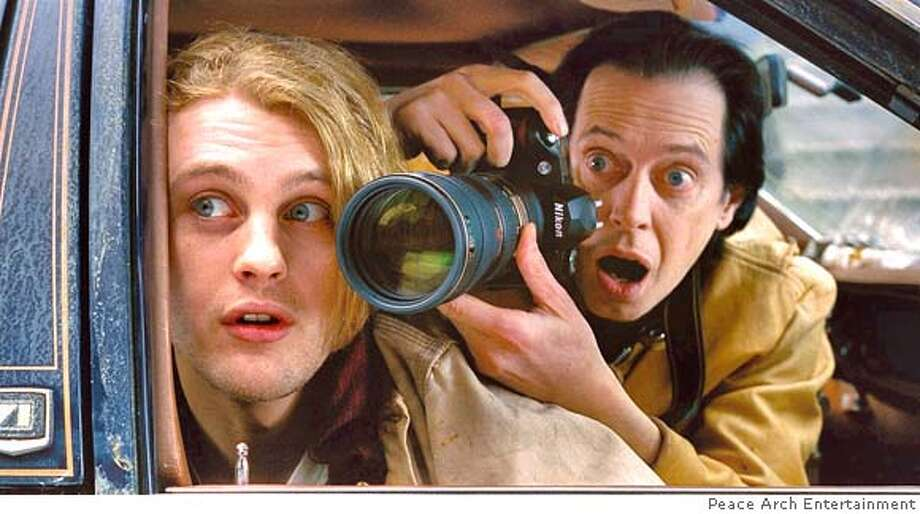 "Peace Arch Entertainment provided this photo of (left to right) Michael Pitt and Steve Buscemi in ""Delirious."" (AP Photo/Peace Arch Entertainment) NO SALES Photo: Peace Arch Entertainment"