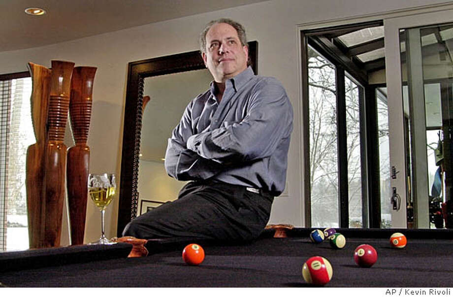 ** FILE **Richard Sands, chief executive officer of Constellation Brands Inc., is seen in his Brighton, N.Y., home, Tuesday, Feb. 18, 2003. Constellation Brands Inc., an international producer and marketer of wine, spirits and beers, said Tuesday, Oct. 19, 2004, that it had made a $970 million cash bid to acquire The Robert Mondavi Corp., a well-known California-based winemaker. Mondavi shares surged 30 percent on the news. (AP Photo/Kevin Rivoli) Ran on: 10-20-2004  Photo caption Ran on: 11-10-2005  Workers harvested the last of this year's grapes at La Jota Vineyard Co. last week. The winery was recently acquired by Jess Jackson's Artisans & Estates Vineyards & Wineries. Ran on: 01-26-2006  Richard Sands Photo: KEVIN RIVOLI