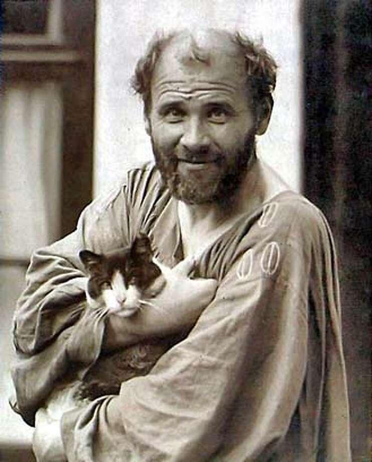 Artist Gustav Klimt Photo: People.reed.edu
