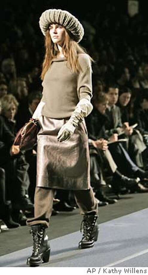 The fall 2006 collection of Marc Jacobs is presented during Fashion Week, Monday, Feb. 6, 2006, in New York. (AP Photo/Kathy Willens) Photo: KATHY WILLENS