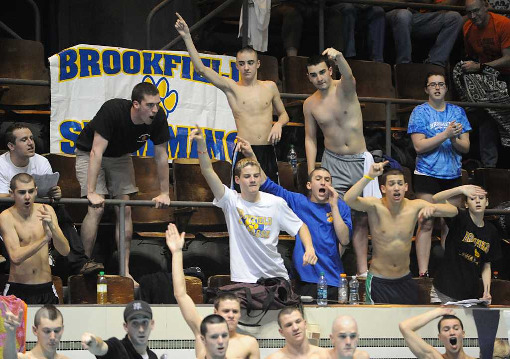 Brookfield Swimmers Finish Second At State Open Boys Swimming Championship Newstimes