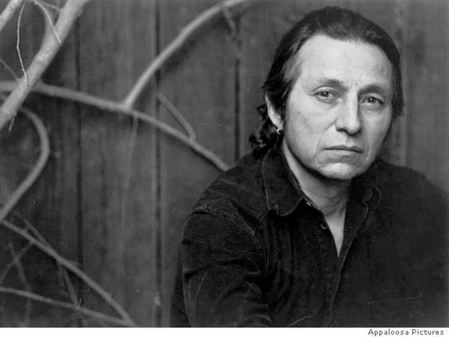 "John Trudell, American Indian musician and activist on Alcatraz 1969-71, to the subject of the documentary ""trudell"""