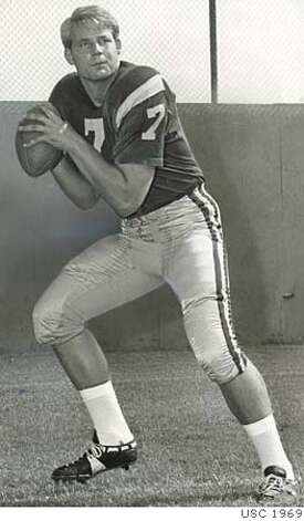 Seattle Seahawks Coach  Mike Holmgren as a quarterback at USC in 1969.  July 9, 1969 Joe Rosenthal handout Photo: Handout