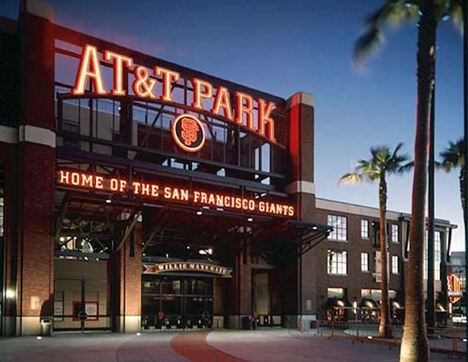 Mock up of Mays Gate showing what will be the new sign at the renamed AT&T Park.