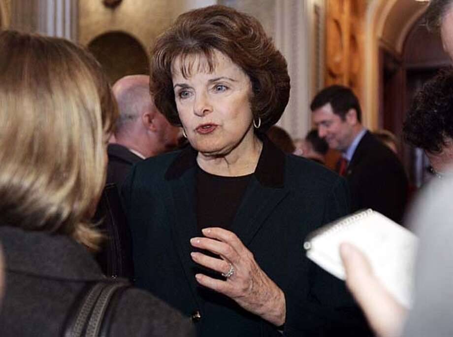 Sen. Dianne Feinstein's proposal allows for challenges to provisions added to spending bills.