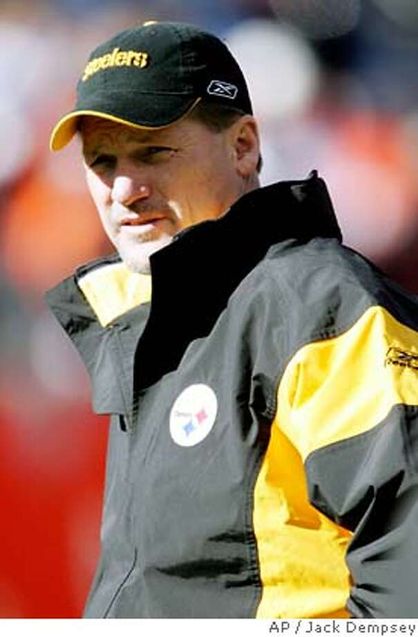Pittsburgh Steelers offensive coordinator Ken Whisenhunt looks on before the AFC championship football game against the Denver Broncos Sunday, Jan. 22, 2006 in Denver. The Steelers take on the Seattle Seahawks in Super Bowl XL on Sunday, Feb. 5, 2006 in Detroit. (AP Photo/Jack Dempsey) ** FOR USE AS DESIRED WITH SUPER BOWL XL STORIES ** Photo: JACK DEMPSEY