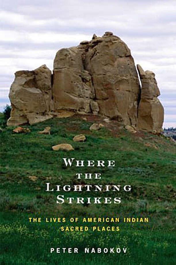 """Book cover art for, """"Where The Lightning Strikes."""""""