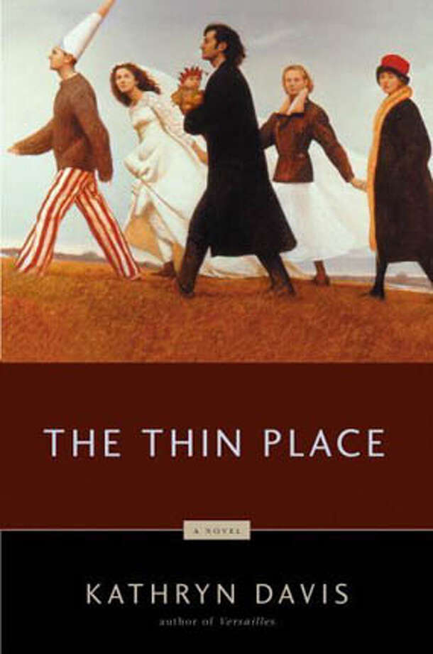 "Book cover art for, ""The Thin Place"" a novel by Kathryn Davis. Photo: HO"