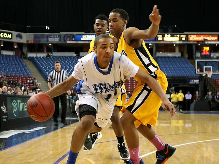 DeOndre Otis led Sacred Heart Cathedral to the top seed in Division III. Photo: Kevin Johnson, The Chronicle