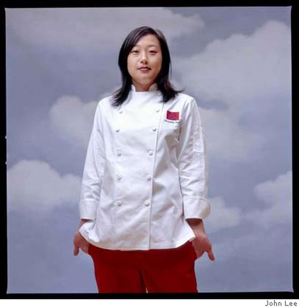 Michelle Mah, Executive Chef at Ponzu. Portrait by John Lee