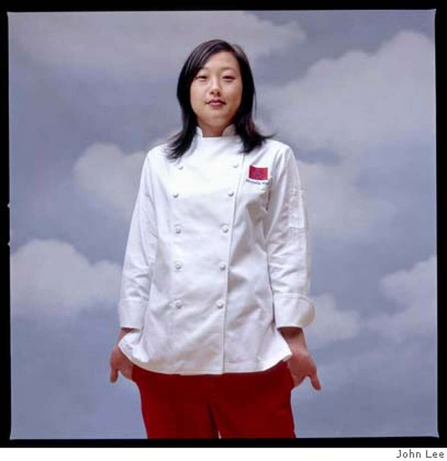Michelle Mah, Executive Chef at Ponzu. Portrait by John Lee