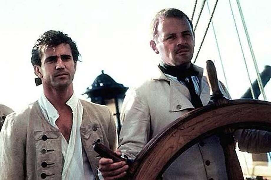 """""""The Bounty"""" (1984) Mel Gibson and Anthony Hopkins Photo: Orion Pictures"""