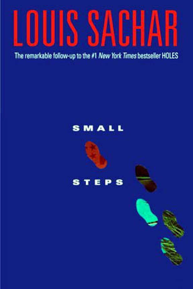 "Book cover art for, ""Small Steps"" by Louis Sachar. Photo: No Byline"