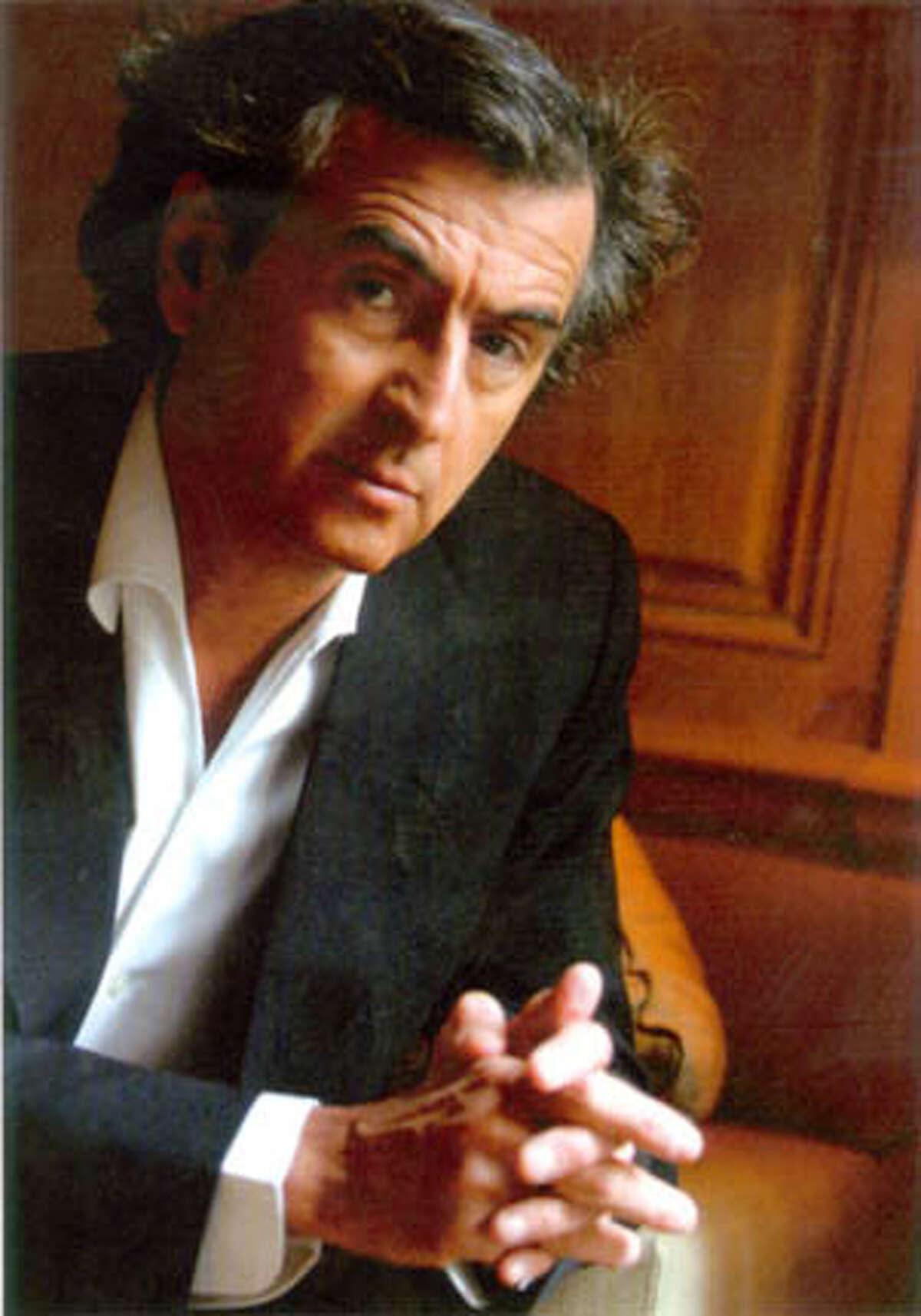 Bernard Henri-Levy, author of