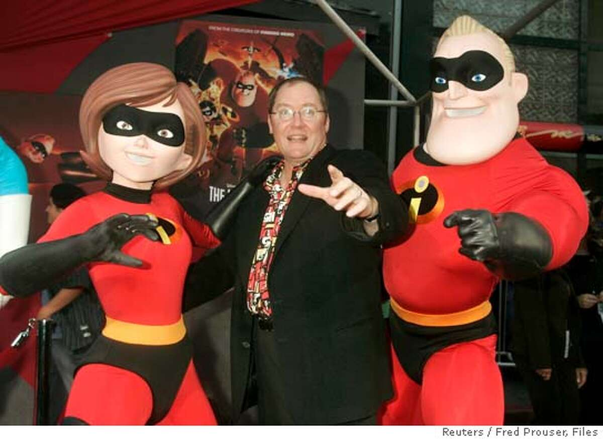 John Lasseter of Pixar Animation Studios is pictured at the premiere of the film