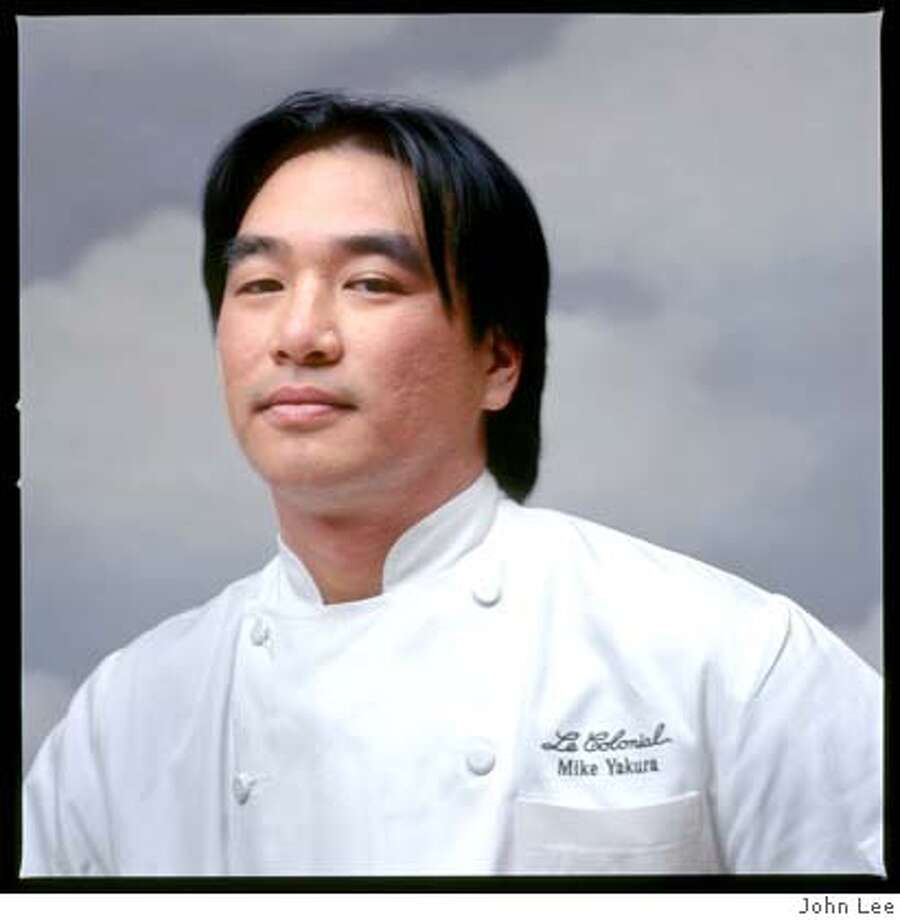Mike Yakura, Chef at Le Colonial. Photo by Craig Lee
