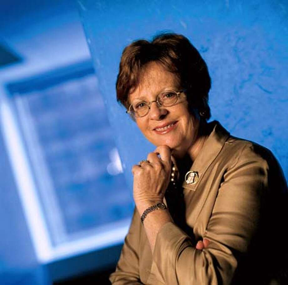 Photo of Mary Cranston, firm chair of Pillsbury Winthrop LLP. Ran on: 02-10-2005  Cranston Photo: HO