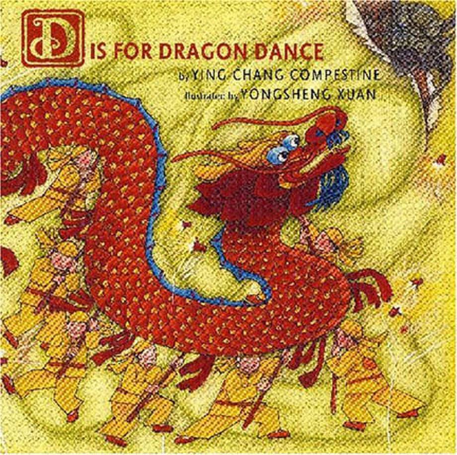 "Book cover art for, ""D Is For Dragon Dance"" by Ying Chang Compestine. Photo: No Byline"