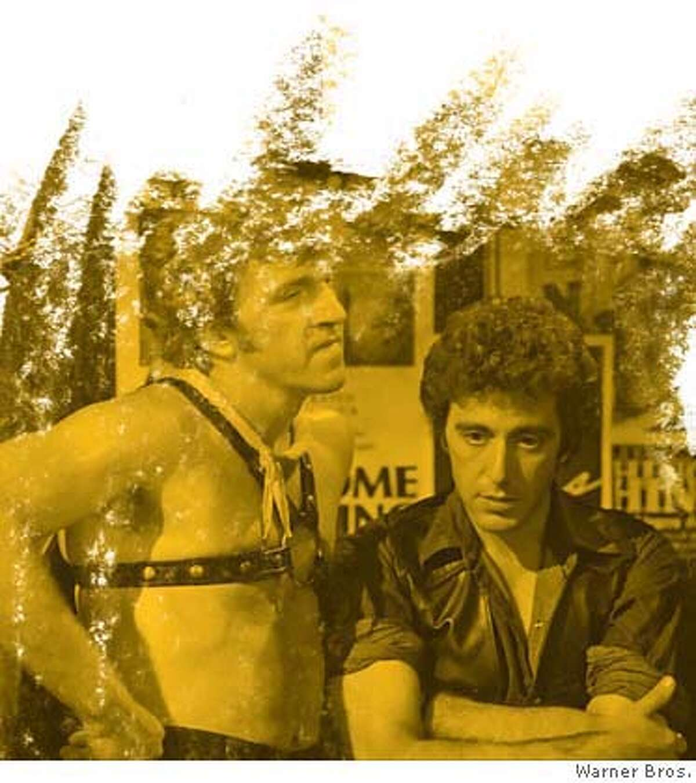 """CRUISING"" - Al Pacino as Steve and Leo Bummester as Water Sport. (c) 1980 Warner Bros. Entertainment Inc.."