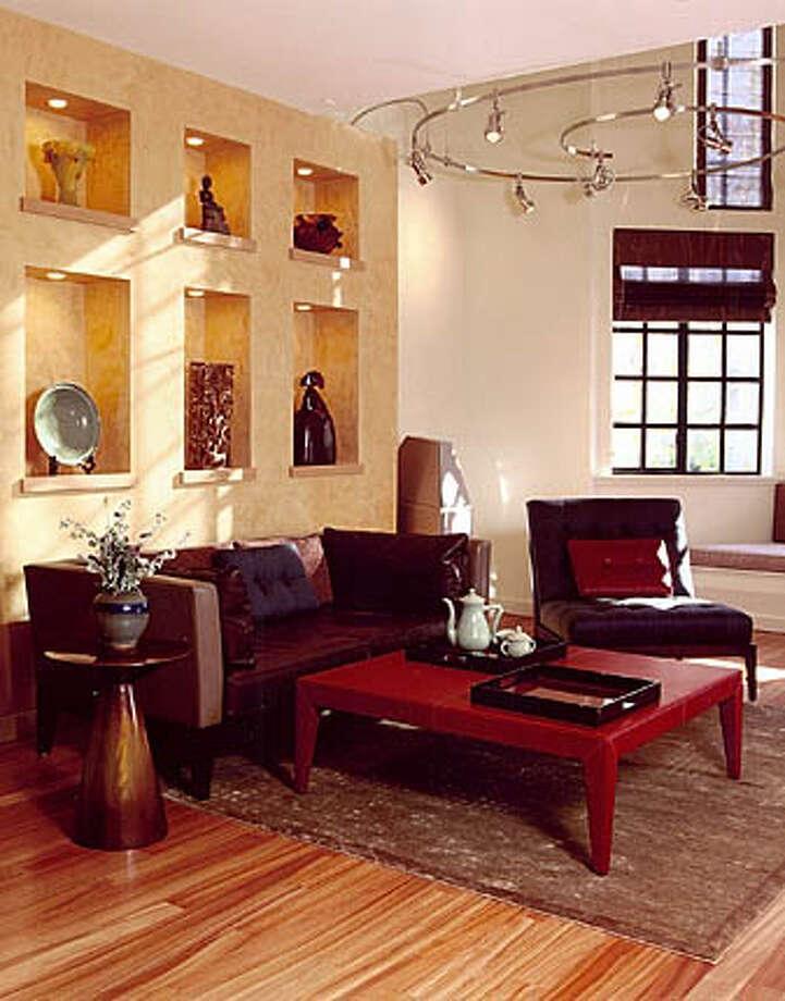 Condo living room (after) Photo: SFC