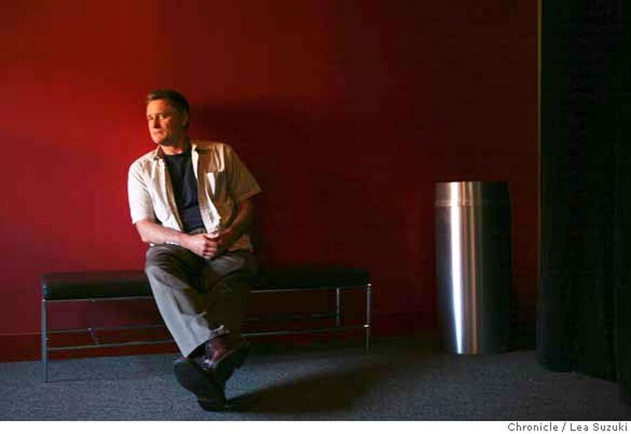 """pullman04_0007_ls.jpg Bill Pullman, Creator and Director of """"Expedition6"""", at the Magic Theater. Photo taken on 082207 in San Francisco, CA.  Photo by Lea Suzuki/ The Chronicle  (Bill Pullman)cq MANDATORY CREDIT FOR PHOTOG AND SF CHRONICLE/NO SALES-MAGS OUT. Photo: Lea Suzuki"""