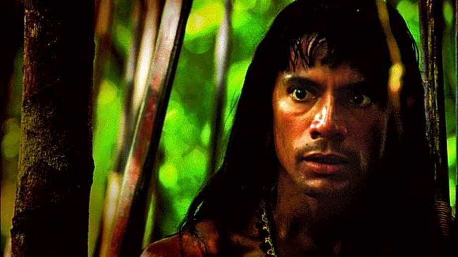 Louie Leonardo as Mincayani in End of the Spear. Ran on: 01-20-2006  Louie Leonardo as Waodani tribesman Mincayani in the Christian-themed movie &quo;End of the Spear.&quo; Photo: Every Tribe Entertainment