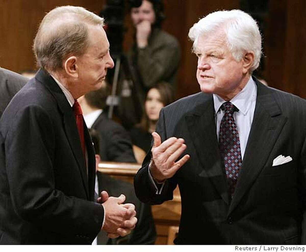 US Senate Judiciary members discuss Samuel Alito nomination for Supreme Court in Washington