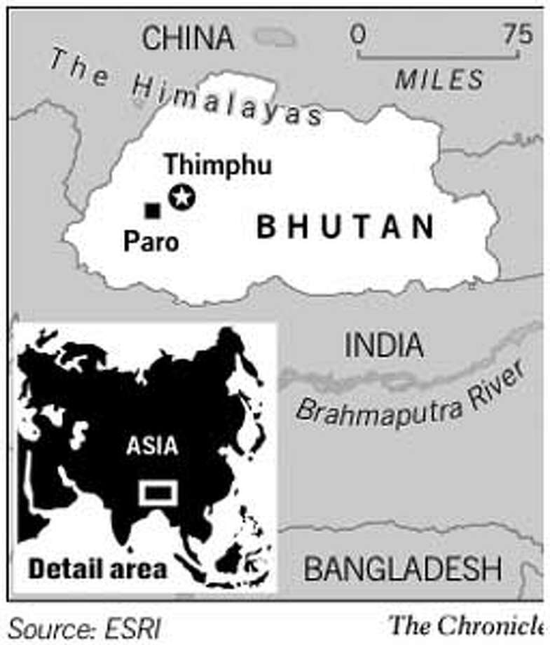Bhutan. Chronicle Graphic