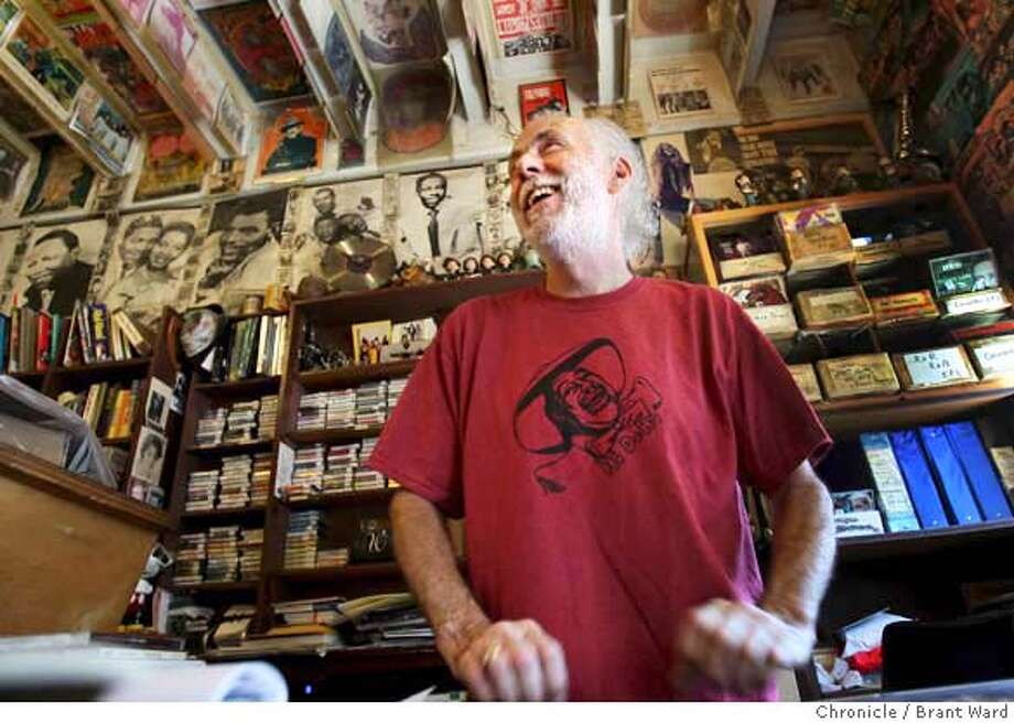 goddard_248.JPG  John Goddard at his usual position, behind the counter of his beloved record store.  John Goddard is closing his legendary Mill Valley record store called Village Music at the end of September. He talked about the music business at Village Music, 3 East Blithedale. {By Brant Ward/San Francisco Chronicle}8/28/07 Photo: Brant Ward