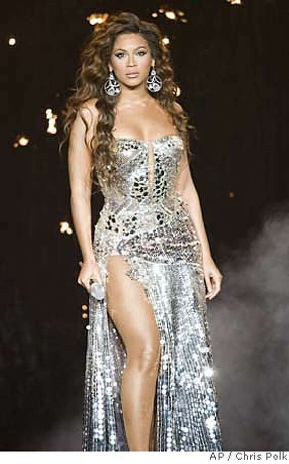 "Beyonce performs in concert on ""The Beyonce Experience Tour"" at the Honda Center in Anaheim, Calif., on Saturday Sept. 1, 2007. (AP Photo/Chris Polk) Photo: Chris Polk"
