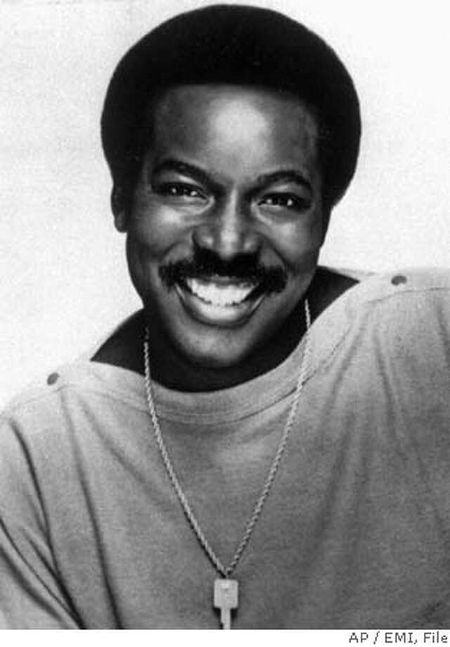 """**FILE** Singer Wilson Pickett poses for a portrait in this March 1981 file photo provided by EMI. Pickett, the soul pioneer best known for the fiery hits """"Mustang Sally"""" and """"In The Midnight Hour,"""" died of a heart attack Thursday, Jan. 19, 2006 according to his management company. He was 64. (AP Photo/EMI, FILE) A MARCH 1981 FILE PHOTO. HANDOUT PHOTO PROVIDED BY EMI. Photo: B"""