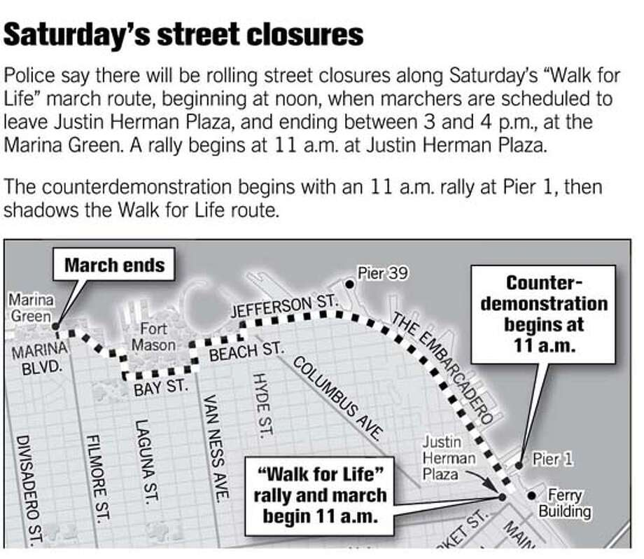 (B9) Saturday Street Closures
