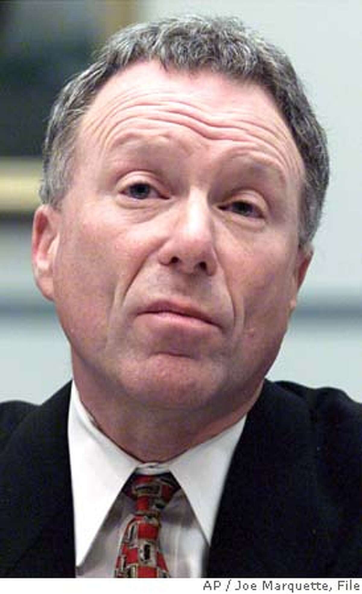 ** FILE ** Lewis Libby, Vice President Cheney's chief of staff, testifies on Capitol Hill in Washington in this March 1, 2001 file photo. (AP Photo/Joe Marquette, File) Ran on: 10-17-2005 Judith Miller Ran on: 10-17-2005 A MARCH 1, 2001 FILE PHOTO