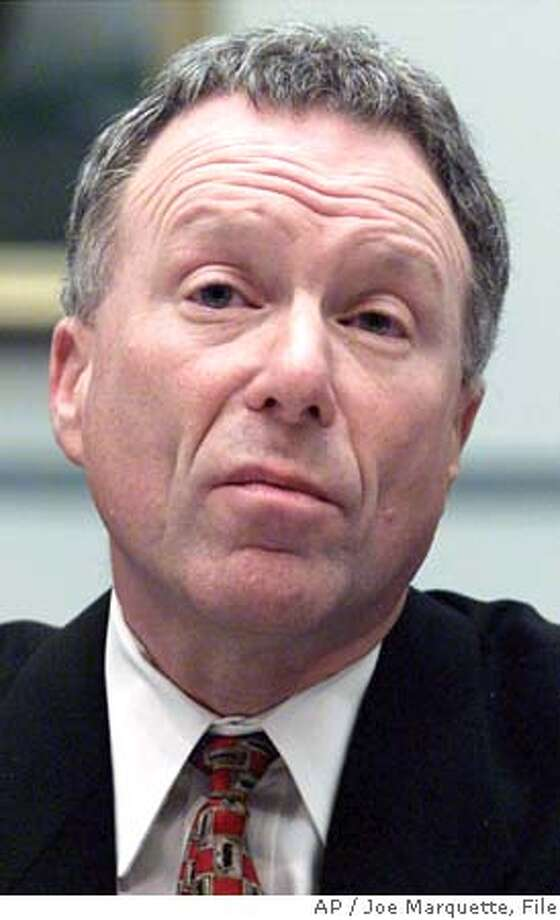 ** FILE ** Lewis Libby, Vice President Cheney's chief of staff, testifies on Capitol Hill in Washington in this March 1, 2001 file photo. (AP Photo/Joe Marquette, File) Ran on: 10-17-2005  Judith Miller Ran on: 10-17-2005 A MARCH 1, 2001 FILE PHOTO Photo: JOE MARQUETTE