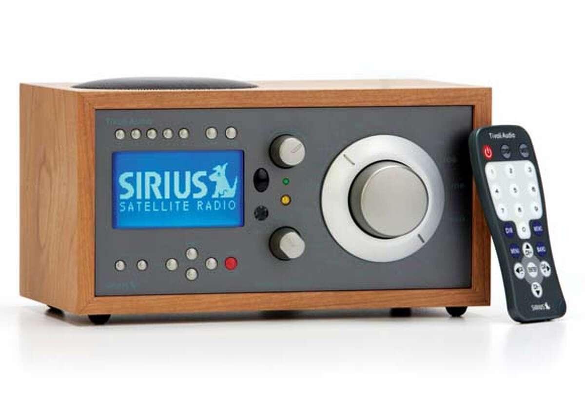 Sirius radios for Howard Stern fans, Tivoli Model Satellite.