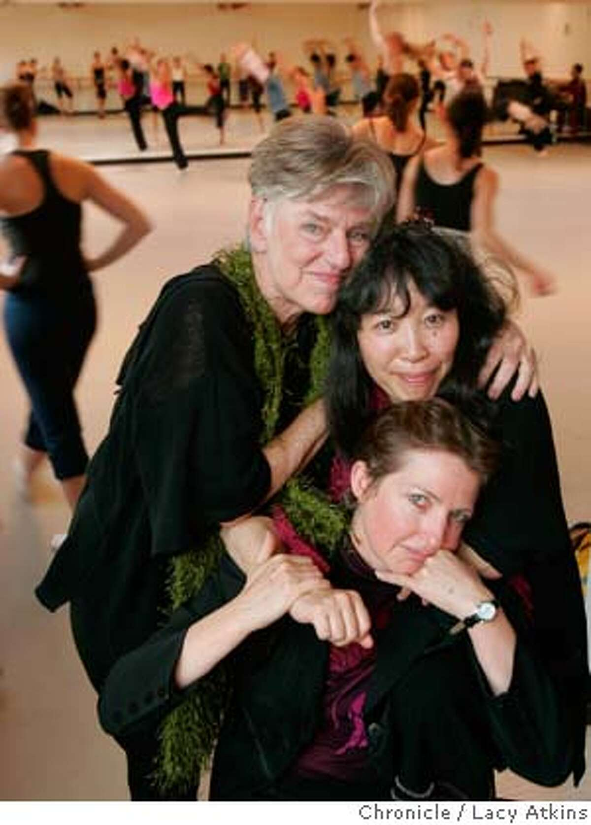 Founders of ODC dance school, (left to right) Brenda Way, Kimi Okada and KT Nelson (sitting) at the new school in San Francisco, Jan.5, 2006. Photo By Lacy Atkins MANDATORY CREDIT FOR PHOTOG AND SF CHRONICLE/ -MAGS OUT