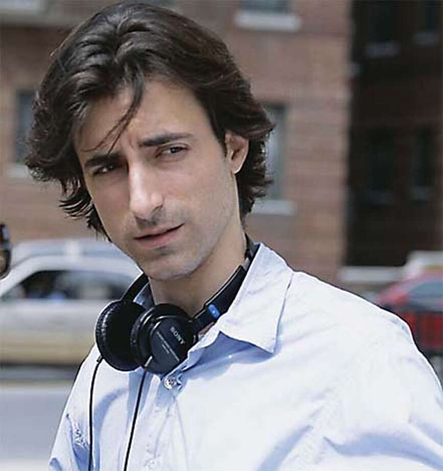 "Director Noah Baumbach on the set of ""The Squid and the Whale"" Photo: Samuel Goldwyn Films LLC"