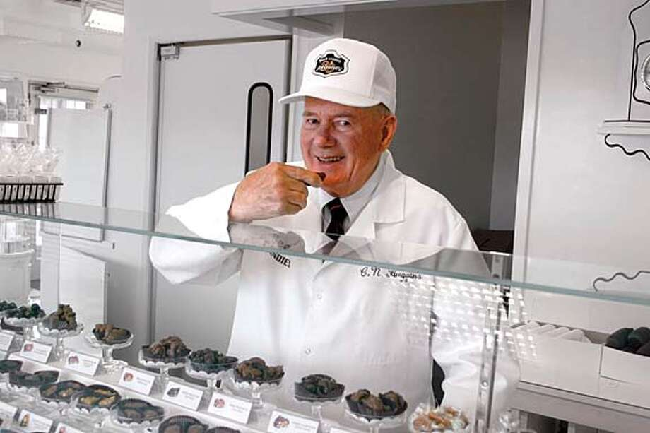 CEO Charles Huggins started working at See's in 1951. Photo courtesy of See's Candies