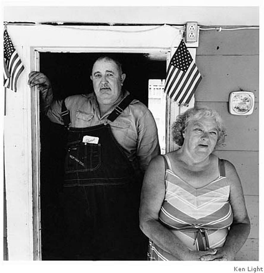 Cody and Ocie, his girlfriend of twenty-two years, Oozley Branch Hollow, West Virginia,2002 Photo: Ken Light