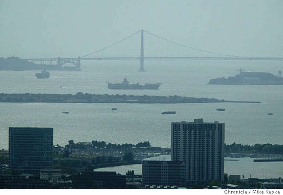 Smog in the Bay Area is growing.  Mike Kepka / The Chronicle Photo: Mike Kepka